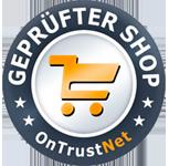 Dieser geprüfte Shop erfüllt alle Qualitätsanforderungen und ist berechtigt, das Gütesiegel zu tragen.