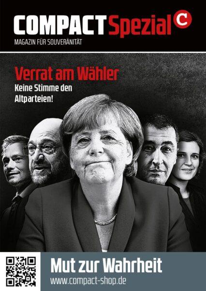 Aufkleber Verrat am Wähler Geschichte und Gegenwart der Altparteien
