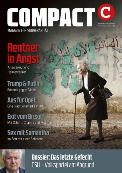 COMPACT-Magazin August 2018