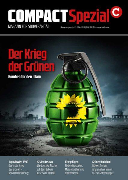 COMPACT-Spezial 21: Der Krieg der Grünen