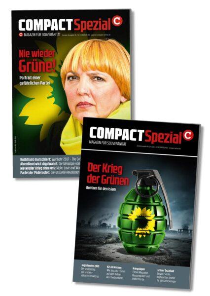 Der Krieg der Grünen - im Doppelpack
