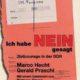 """Ich habe """"Nein"""" gesagt. Über Zivilcourage in der DDR"""