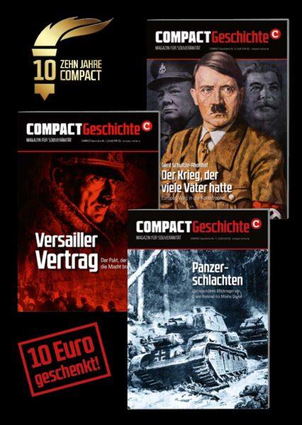 Jetzt mit Jubiläumsrabatt: Weltkriege – auch im Dreierpack