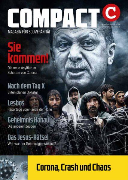 COMPACT 4/2020: Sie kommen! Die neue Asylflut im Schatten von Corona