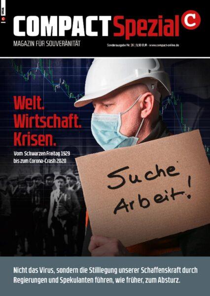 Welt.Wirtschaft. Krisen – Vom Schwarzen Freitag 1929 zum Corona-Crash 2020