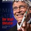 """20 x COMPACT-Aufkleber """"Der Impf-Diktator"""" (A7)"""