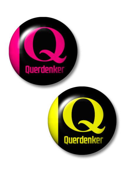Q-Button. Das Erkennungszeichen der neuen Freiheitsbewegung!