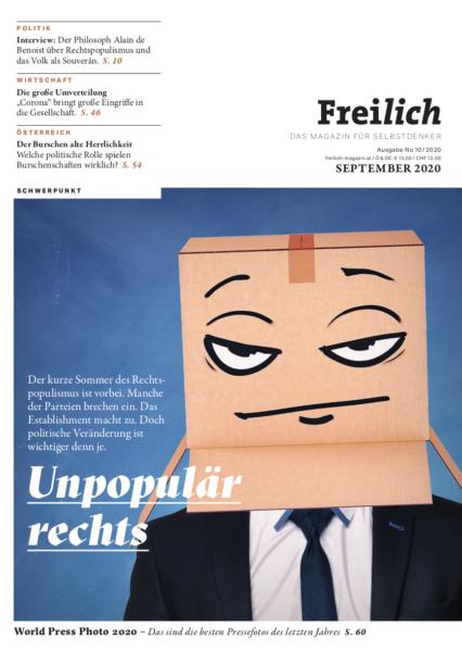 FREILICH Magazin 10: Unpopulär rechts. Der kurze Sommer von rechts!